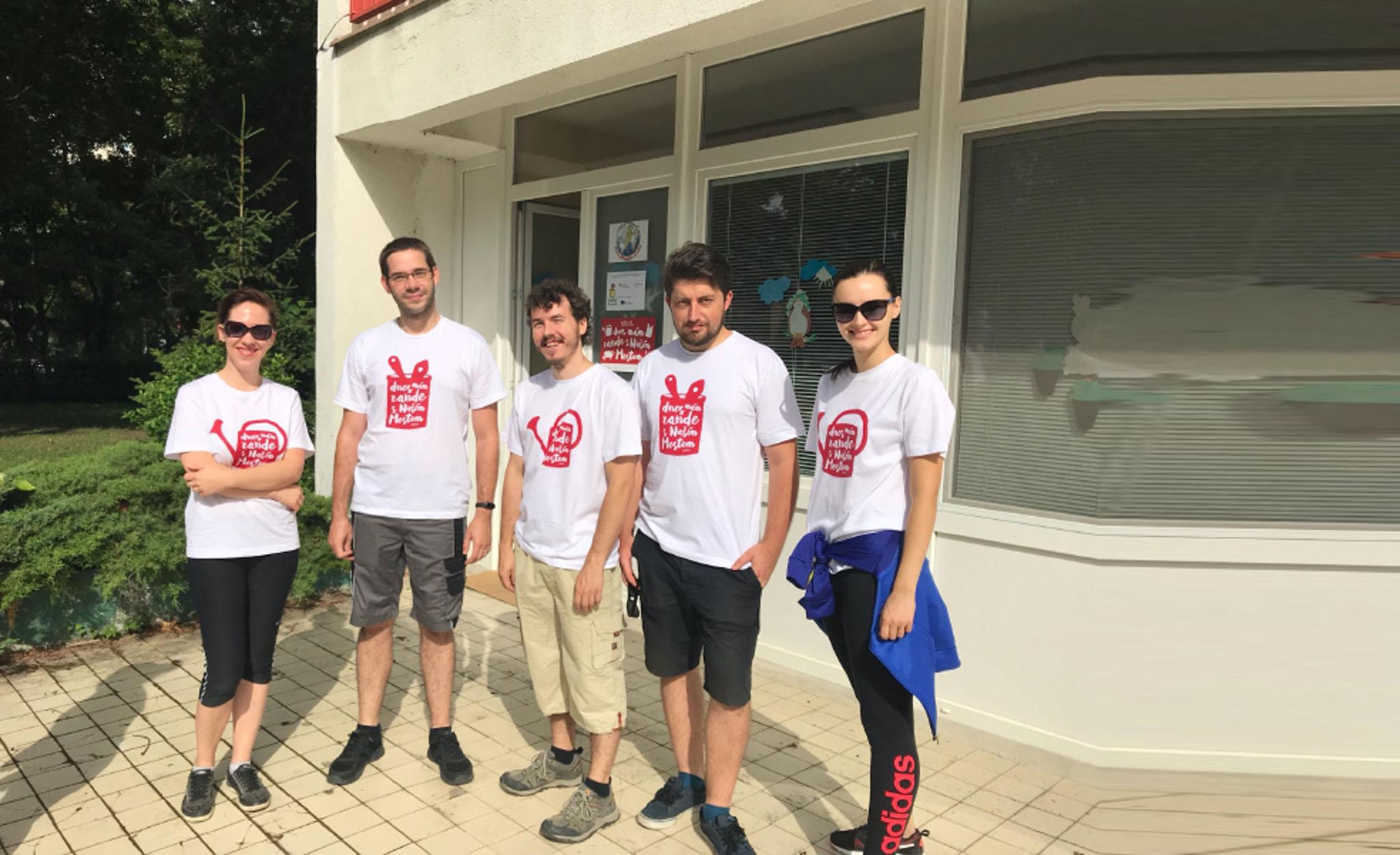 ERNI Slovakia Team - Volunteering for our city