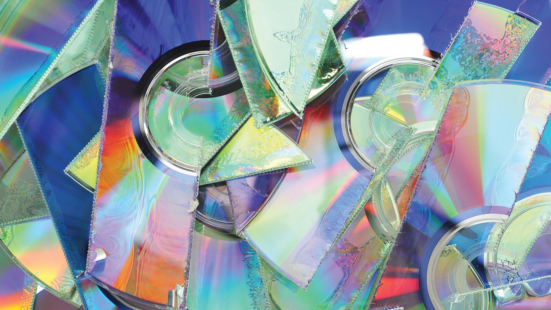 Shredded CDs