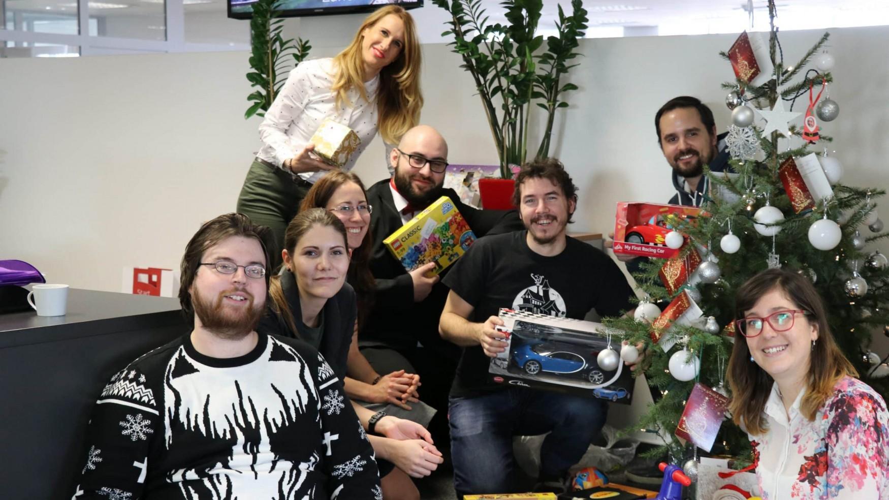 ERNI Slovakia donation christmas