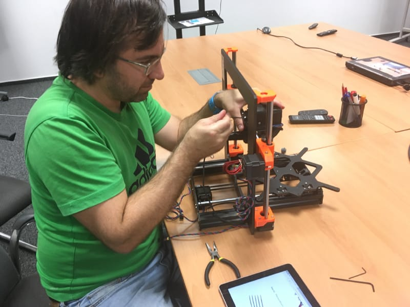 3D Printer Michal Molcany