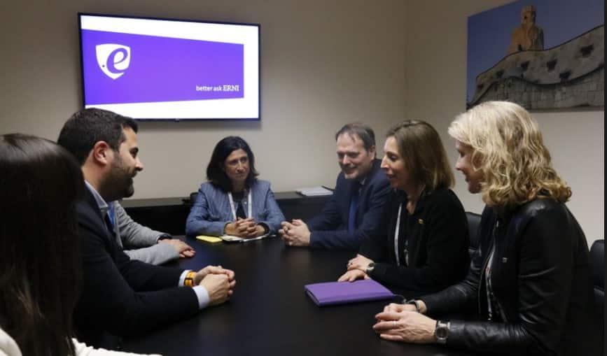 MWC 2019 Gerard Esparducer ERNI