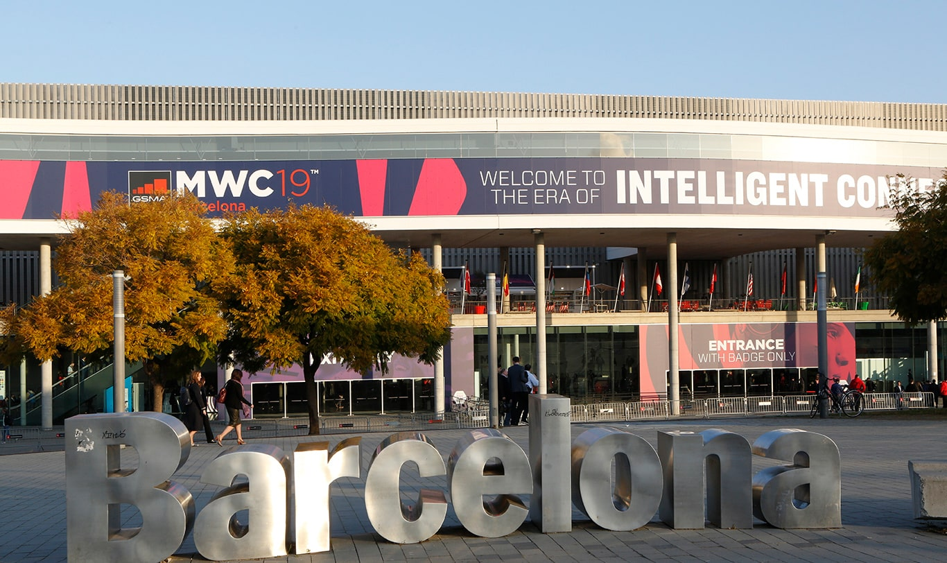 Mobile World Congress 2019 - Outside view