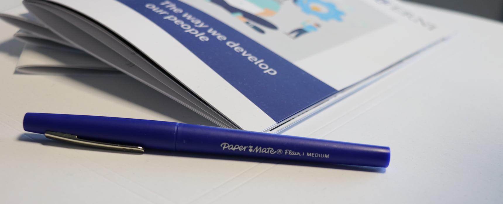 ERNI Blue Pen