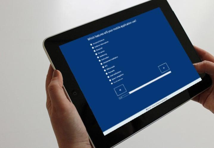 ERNI App Type Chooser
